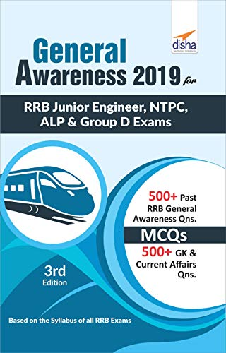 General Awareness 2019 for RRB Junior Engineer, NTPC, ALP & Group D Exams
