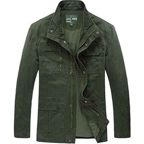 generisches-chaqueta-blusa-para-hombre-ejercito-verde-x-large