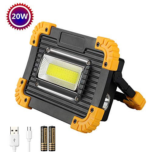 Foco LED Recargable 20W