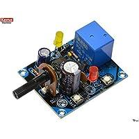 Kemo Electronic - KIT timer di precisione start stop 1 sec - 40 min regolabile 12V DC uscita a relè