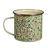 Briers Ltd - Taza de Metal con diseño de madreselva –Color Verde
