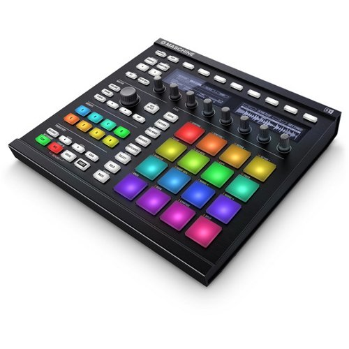 Native Instruments 21949 MASB Maschine Mkii MK2 2.0, Nero