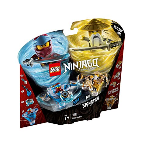 LEGO NINJAGO Spinjitzu NYA & Wu Building Blocks for Kids (227 Pcs)70663