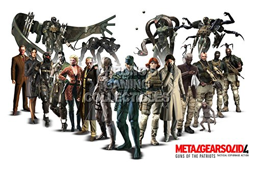 cgc-huge-poster-metal-gear-solid-4-characters-mgso08-16-x-24-41cm-x-61cm