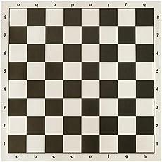 SPEEDY Chess Vinyl Matt, Size- 17.5 X 17.5 Inch (YG-OC83-0KX5)
