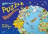 Mein erster Puzzle-Weltatlas: 5 Puzzles mit je 48 Teilen
