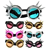4sold (TM) Steampunk Antique Copper Cyber Goggles Rave Goth Vintage Victorian like Sunglasses all pictures - 4sold ltd