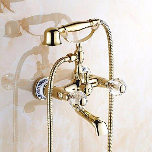 Lalaky rubinetto bagno lavabo bocca girevole per lavabo rubinetto monocomando per lavandino per cucina y bagno l'oggetto d'antiquariato in rame tutto oro pu¨° essere ruotato senza sbiadire