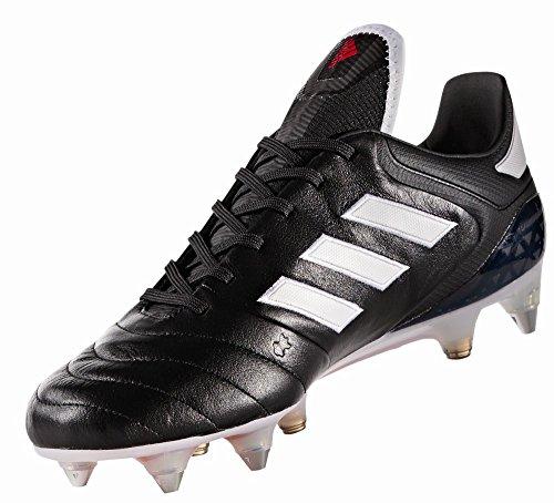 7.1 Sg für für Fußballtrainingsschuhe, Schwarz (Negbas/ftwbla/Rojo), 44 EU ()