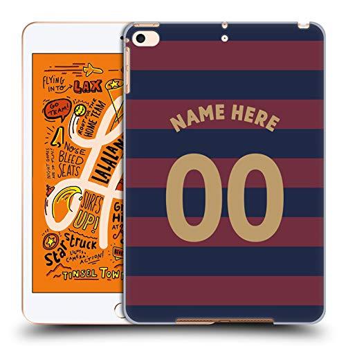 Head Case Designs Personalisierte Individuelle Newcastle United FC NUFC Away Kit 2018/19 Crest Harte Rueckseiten Huelle kompatibel mit iPad Mini (2019) -