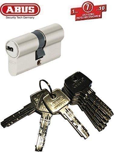 Preisvergleich Produktbild ABUS EC550 Profil-Doppelzylinder Länge (a / b) 40 / 45mm (c=85mm) mit 8 Schlüssell