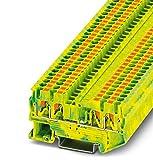 PHOENIX CONTACT Schutzleiter-Reihenklemme PT 2,5-QUATTRO-PE, 1 Stück, 3209594