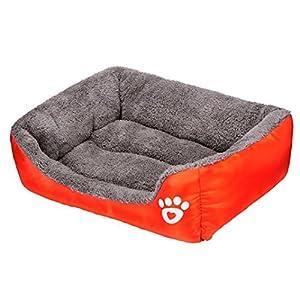 Panier Chien, Kolylong Chien Chat Chiot De Lit Coussin Maison Douce Et Chaude Blanket Kennel Mat Dog Tapis Chien Lit Pour Chien