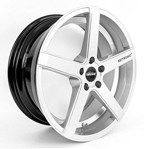 Seitronic® RP6 Alufelge | Concave Design | Hyper Silver 19 Zoll 8,5J 5x120-ET35-72,6 - Bmw 5-speichen-felgen