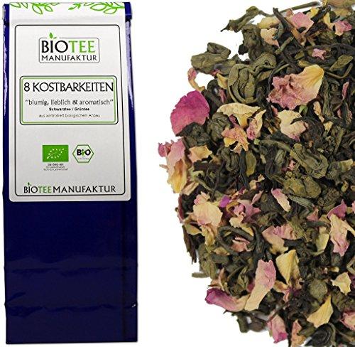 Acht Kostbarkeiten – Bio, Schwarzer- Grüner Tee lose (1 x 100g)