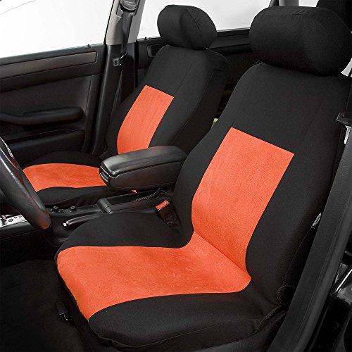 Autositzbezug Set Sitzbezüge Universal Sitzschoner Schwarz Grau Schonbezüge
