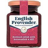 La Provende Anglais Co Relish Betterave Rouge Au Raifort Et À L'Aneth 300G (Paquet de 6)