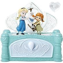 """Frozen - Caja de joyas con Elsa, Anna y Olaf, diseño """"Do you want to build a snowman?"""" (CEFA Toys 88516-EU)"""
