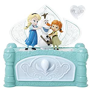 Frog Build a Snowman Jewellery Frozen Box, Clear