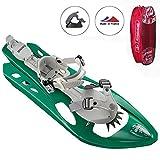 Inook Schneeschuhe Allround Odyssey mit Steighilfe und Softspadbindung, Schuhgröße EU 36-47