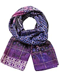 Desigual Women's Foulard_rectangle Boho Scarf
