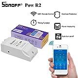 Sonoff Pow R2 Verbesserte WiFi Smart Pow-Verbrauch Socket Wireless Fernbedienung Pow Messschalter Funktioniert mit Alexa Google