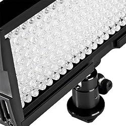 Walimex Pro - Foco con 128 LED para videocámaras