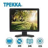 "TPEKKA 15"" Zoll HDMI/BNC/AV/VGA Eingang TFT LCD Sicherheits Monitor 4:3/ 16:9 TV PC CCTV Bildschirm"