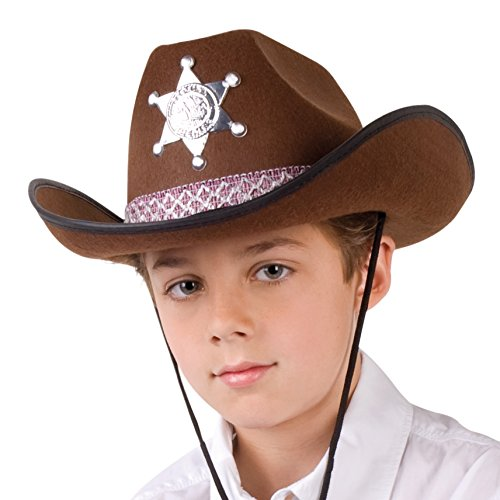 Generique - Chapeau Sheriff Marron