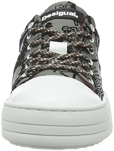 Desigual Gipsy Funky, Sneakers Basses Femme Gris (Negro 2000)