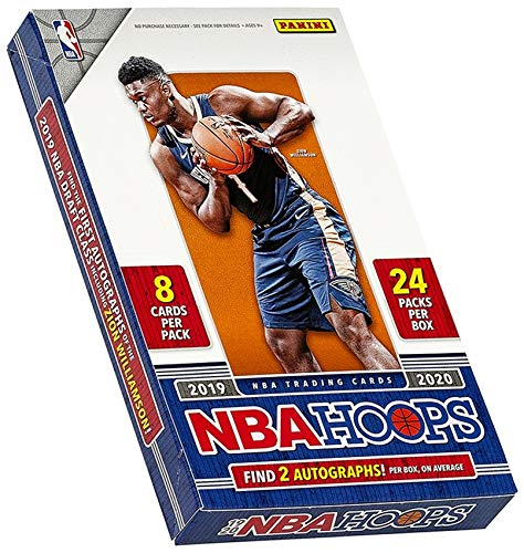 Panini 2019/20 NBA Hoops Basketball Hobby Box