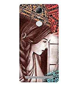 PRINTSWAG BEAUTIFUL GIRL Designer Back Cover Case for LENNOVO K5 NOTE