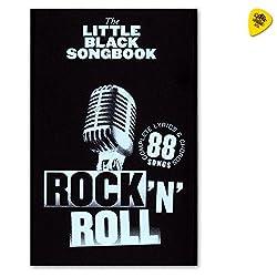 The Little Black Songbook: Rock 'n' Roll - Liederbuch für Gitarre mit Texten und Akkorden mit Dunlop Plek