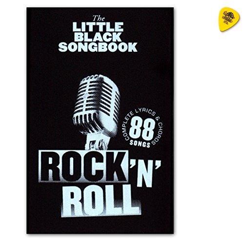 The Little Black Songbook: Rock 'n' Roll–Cancionero para guitarra con textos y akkorden con Dunlop Púa