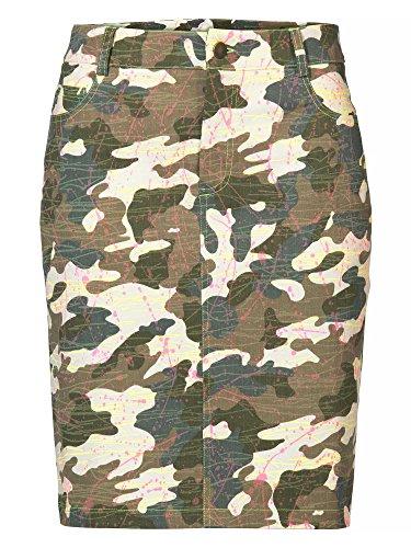 apart-fashion-jupe-en-jean-vert-olive-multicolore-taille-46