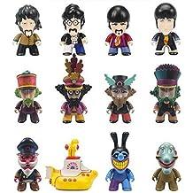The Beatles 599386031 - Figuras collection (7cm) varios personajes