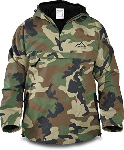 Winddichte Funktions-Jacke für Damen und Herren von S-4XL Farbe Woodland Größe M
