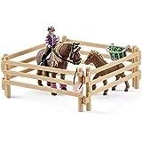 Schleich 42363 - Reiterin mit Island Ponys Figur