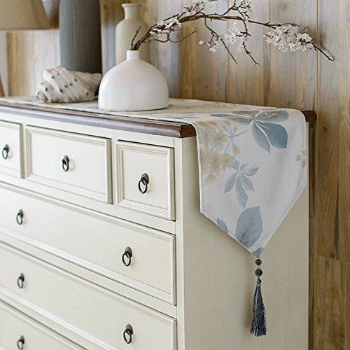 Tischläufer pastorale einfachheit frisch blumen coffee table tv-schrank bett-flagge esstisch schuhkarton hochzeit bankett dekoration-D 30x220cm(12x87inch)