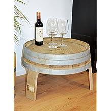 Beistelltisch Wohnzimmertisch Kleiner Tisch Aus Halbem Weinfass