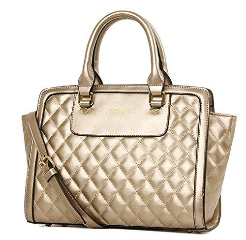 Keshi Pu neuer Stil Damen Handtaschen, Hobo-Bags, Schultertaschen, Beutel, Beuteltaschen, Trend-Bags, Velours, Veloursleder, Wildleder, Tasche Schwarz
