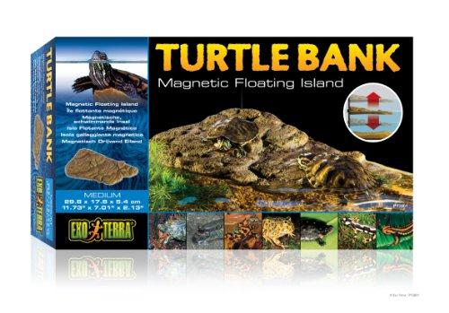 Exo Terra Turtle Bank Medium - isola galleggiante per tartarughe - Tartaruga Di Terra