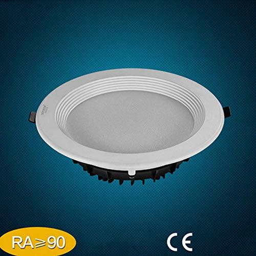 Wlnnes LED7W 6500K Blanco frío Sala de estar Empotrable Techo Downlight Impermeable...