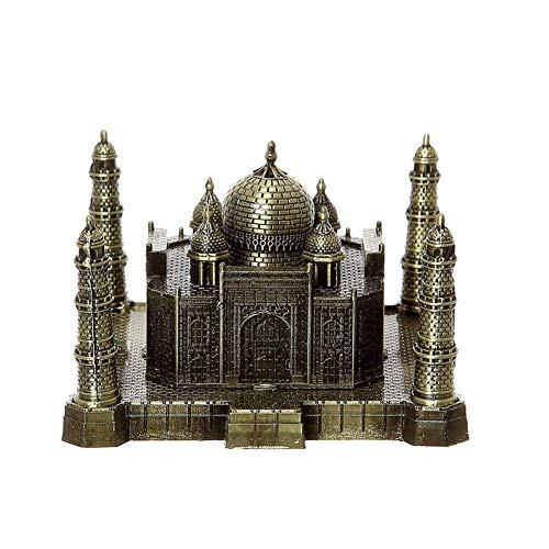 PROW® 3D Metal Indio Taj Mahal Artesanías Art Estatua