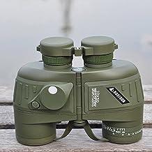 Gearmax® Jumelles 10X50 étanche antichoc télescope binoculaire sportif Optique militaire Spotting Scope avec Compass pour la chasse Camping Randonnée voyage Concert