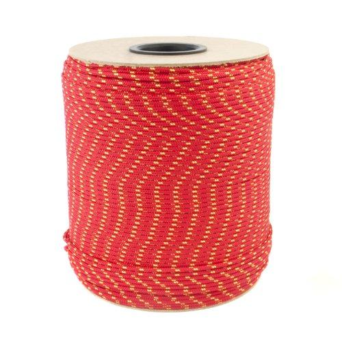 20m POLYPROPYLENSEIL 10mm ROT Polypropylen Seil Tauwerk PP Flechtleine Textilseil Reepschnur Leine Schnur Festmacher Rope Kunststoffseil Polyseil geflochten