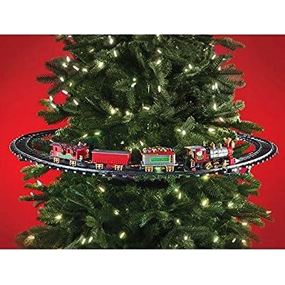 Trenino Elettrico da mettere sull'Albero di Natale