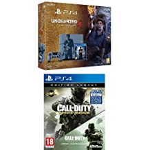 Pack PS4 1To + Uncharted 4 - édition limitée + Call of Duty : Infinite Warfare - édition Legacy