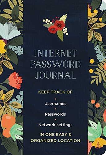 Internet Password Journal - Modern Floral (Logbooks) Trolling Bank
