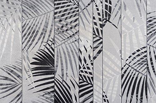 Fuß Palm Tree (wash+dry Fußmatte Palm Tree randloser waschbarer Teppich , Größe:140 x 200 cm)